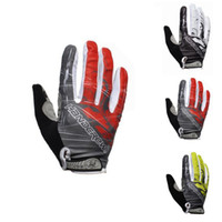 Wholesale Mixed Special Edition Silica Gel Cycling Bike Bicycle Full Finger Gloves Assorted Colors