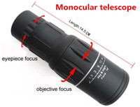 Wholesale New Generation Dual Focus x Zoom In M M Field Monocular Telescope Sports Hunting Concert Spotting Scope with Green Film