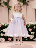 Reference Images Baby Sash Free Shipping Pageant Dress for Teens White Organza A Line Saches with Flowers 2014 New Fashion FL021