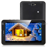 Wholesale 3G Android Tablet Phone MTK8312 Dual Core Ghz CPU Inch HD Screen Android Dual Sim Card WCDMA G GPS Monster Phone GB ROM PD10 GS