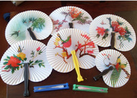 Wholesale Chinese Folding Fans Arts Loot Party Bag Fillers Wedding Kids toys