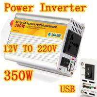 Wholesale 350 Watt Portable V USB DC to AC Car Power Inverter