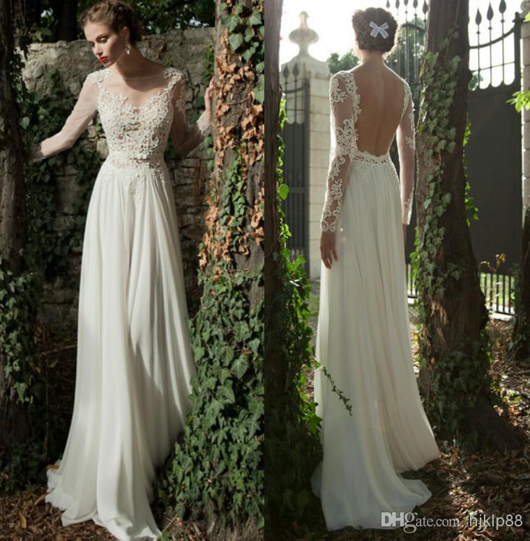 Buy backless lace wedding dress