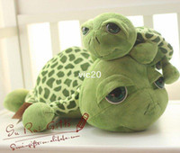 Wholesale EMS Green large turtle doll plush toys little turtle lovely Russ tortoise cm cm cm0 kg