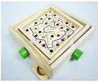 Wholesale EMS wooden toy Small labyrinth