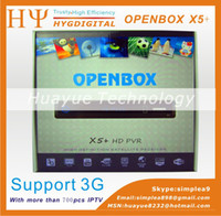 Wholesale Openbox x5 hd pvr Support Internet Ethernet Youtube Youporn Weather Forecast