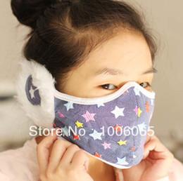 Wholesale 30pcs New Type keep warm winter cotton face mask