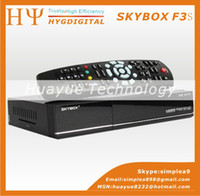 Wholesale Original Skybox F3S HD full p Skybox F3S satellite receiver support usb wifi youtube youpron freeshipping