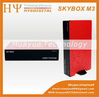 Wholesale Original Skybox M3 Update From Skybox S12 Openbox S12 p Full HD Support USB Wifi DVB S Satellite Receiver Freeshipping