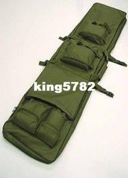 "40"" SWAT Dual Tactical Rifle Carrying Case Gun Bag OD free ship"