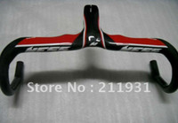 Wholesale bmx handlebars Italy S Full carbon fiber road Integrated handlebar bicycle handlebar bike road handlebar mm H001