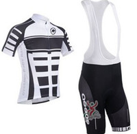 Wholesale 2013 Assos bib short sleeve cycling jerseys wear clothes bicycle bike riding jerseys bib pants shorts