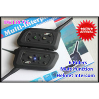 Wholesale Motorcycle Helmet Bluetooth Intercom for Riders Interphone with m Talking Range Factory Price