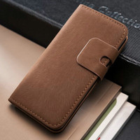 For Apple iPhone Leather Case Soft Feel Luxury Leather Case for iPhone 5 5g iPhone5 iPhone5g iPhon5 phone bag Stand Wallet Flip Book with Card Holder 2013 New