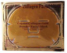 Wholesale Gold Crystal Collagen gel Facial Mask Face Masks