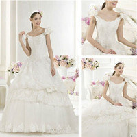 Trumpet/Mermaid Reference Images Chiffon WD01214 Grecian Style Lace Long Train Wedding Dresses