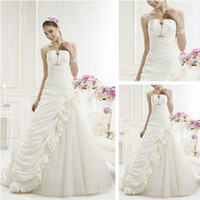 Trumpet/Mermaid Reference Images Chiffon Grecian Style Taffeta Wedding Dresses 2014, Designer Wedding Dress 2014
