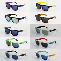Wholesale 10pcs SPY KEN BLOCK Sunglasses HELM Cycling Sports Outdoor Sun Glasses UV Protection