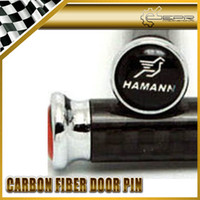 Wholesale 4pcs set FOR HAMANN Real Carbon Fiber Door Pin Lock M3 M5 M6 X1 X3 X5 X6 Z4 E70 E87 E90 E92 E93 F10 F11 F13