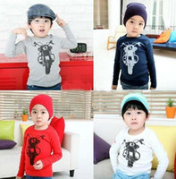 Wholesale children boys motorcycle long sleeve primer T shirt shirt colour SZ66 DEC265 LIU