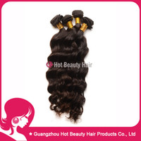 Wholesale 4pcs Dhl Free Virgin Brazilian Loose Wave Hair Natural wave brazilian human hair weave extensions Natural Black