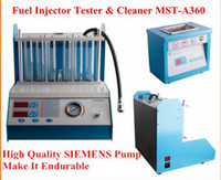 Auto Fuel Injector Tester & Cleaner fuel injector cleaner tester - 6 jars Fuel Injector Tester amp Cleaner MST A360 fuel injector cleaning machine