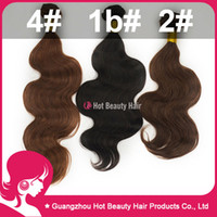 Wholesale Brazilian remy hair kg freee shipping Brazilian human hair body wave Color b