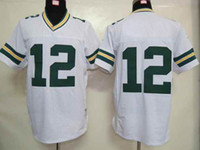 Wholesale Packers Quarterback Aaron Rodgers Elite Football Jerseys White Mens American Football Team Sports Jerseys Best Selling Athletic Wears