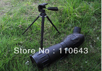Wholesale High Quality x60 Zoom Precision Spotting Scope Telescope Tripod Case Black