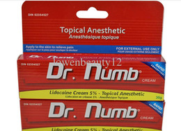 Wholesale Brand Pro DR NUMB g Genuine Skin Numbing Cream Body Piercings Waxing Laser Tattoo Cream