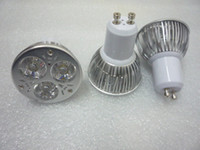 Wholesale High Power W GU10 LED Spotlights V x W GU Spot Lights with leds CE ROSH years warranty WW CW NW Via Express