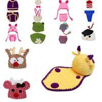 Cheap Boy Handmade Baby Hat Best Winter Crochet Hats Photography Props