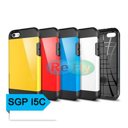 Wholesale SGP Case Tough Armor Armour Super Protect Shield Case Cover for Apple Iphone C TPU PC Colors refly