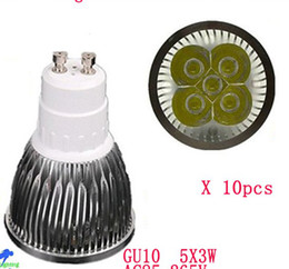 15W led lamp E27 GU10 MR16 E14 GU5.3 dimmable led bulbs 85-265V 12V led spot