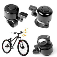 Cheap S9Q Metal Ring Handlebar Bell Sound for Bike Bicycle Black Sports Cycling System AAAARL