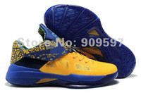 Football Men PU Hot sale kevin durant iv shoes, mens kd 4 basketball shoes for sale size us 8~12