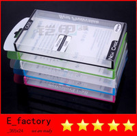 Wholesale PVC retail box for Iphone s c case back cover wallet cases Samsung Galaxy S3 s4 s5 Note