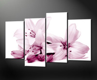 Cheap More Panel Calla Lily Best Oil Painting Abstract Canvas Art