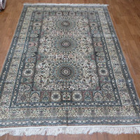 Wholesale 6 x9 Kashmir Silk Persian Handmade Handknotted Carpet A6x9