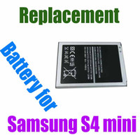 Wholesale 2013 New Arrival Rechargeable Replacement Li ion Battery For Samsung Galaxy S4 mini i9190 v mah goodwiillbiz