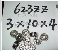 Wholesale 50pcs Z ZZ Deep Groove Ball Bearing Quality x10x4 ABEC1