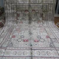 Wholesale 10 x14 Large Handmade Silk Carpets Four Season Design Persian Rugs A10x14