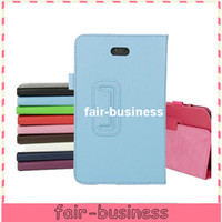 Wholesale New Arrival Colorful Lichee Pattern PU Leather Case Folio Pouch Cover Stand for Dell Venue pro quot Perfect Fit PC