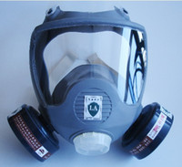 Cheap Full facepiece reusable respirator filter protection masks anti-organic and gas R90801