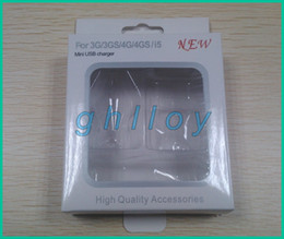 Empty Retail Package Box Packaging For iphone 5 5G 4G 4GS 3GS 3 in 1 (mini charger,car charger, usb cable) 300set
