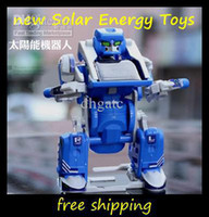 Wholesale NEW HOT kids Solar Energy Toys in Solar Robot toys educational DIY solar Kit Toy Gift