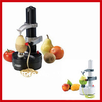 Plastic electric potato peeler - Multifunction Rotato Express Electric Automatically Fruit Vegetable Peeler Slicer Apple Potato Zester Pear Peeler