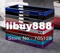 For Sony Ericsson Metal Bumper For Sony Ericsson Xperia Z L36i L36h Metal Bumper, Mix Color, Free Shipping by DHL