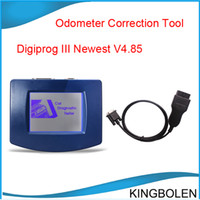 Wholesale 2014 Newly Version V4 Digiprog III odometer correction tool with Multi language Digiprog by DHL China Post to everywhere