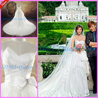 Trumpet/Mermaid Reference Images Sweetheart 2014 Elegant Sexy Luxury Garden Beach Sweetheart Lace Appliques Stones Zipper SweepTrain Mermaid Wedding Dresses Sheath Gowns Hotselling